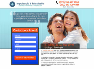 ejemplo landing page con formulario 2