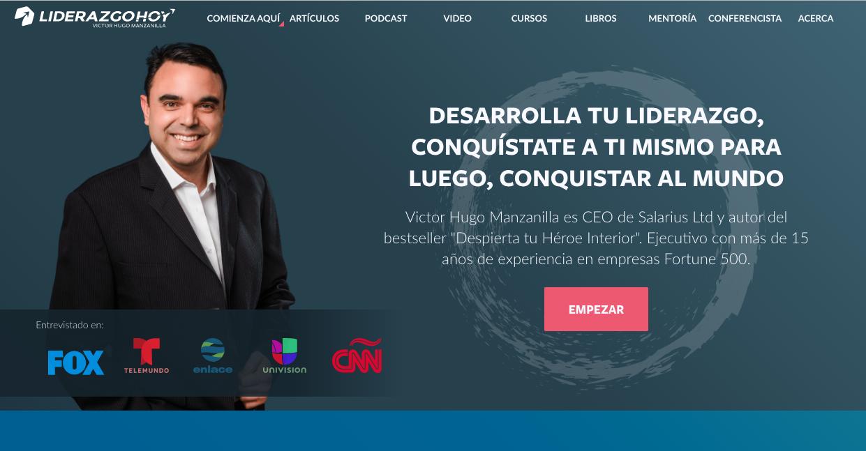 victor hugo manzanilla web