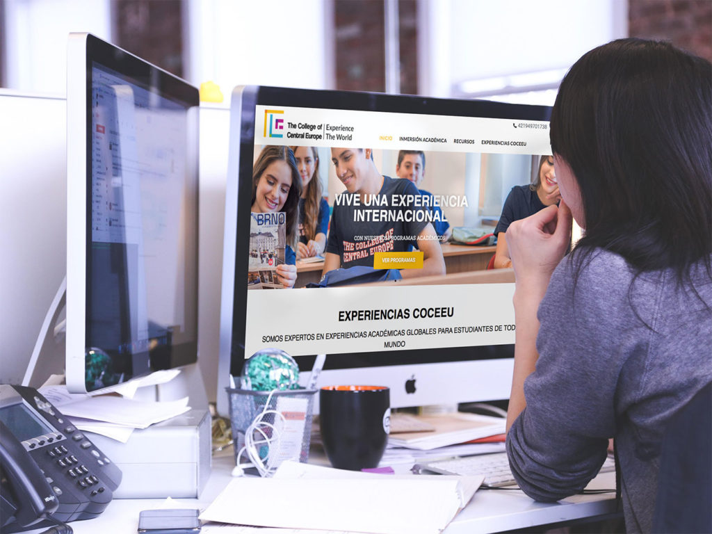 página web academia