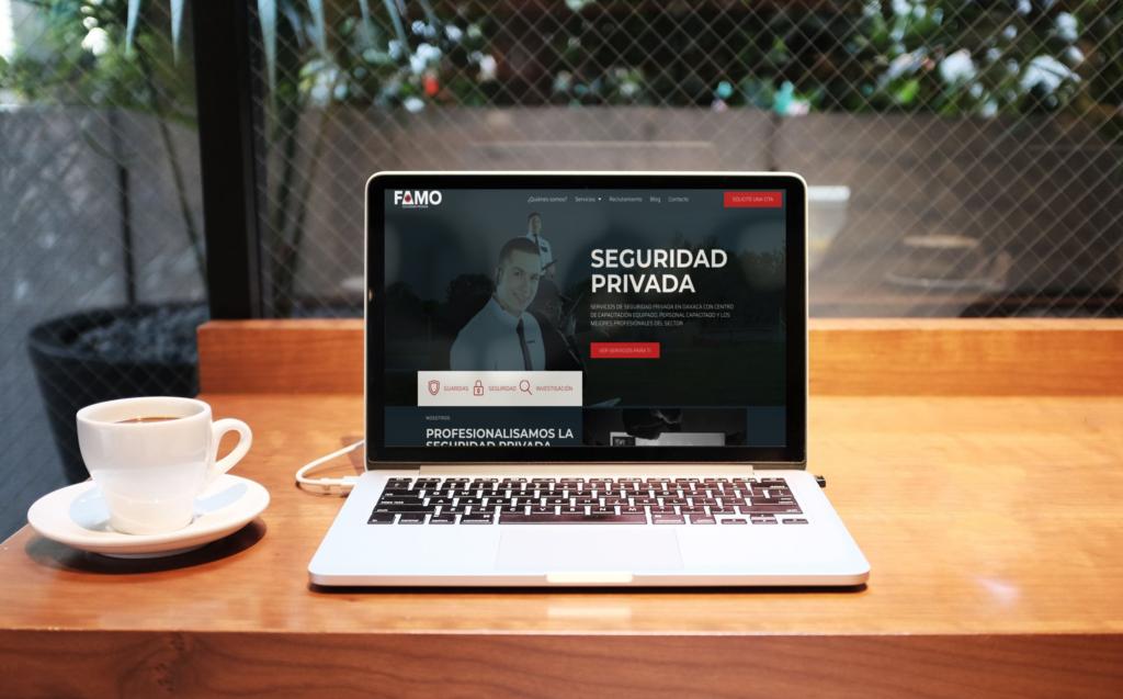 página web seguridad