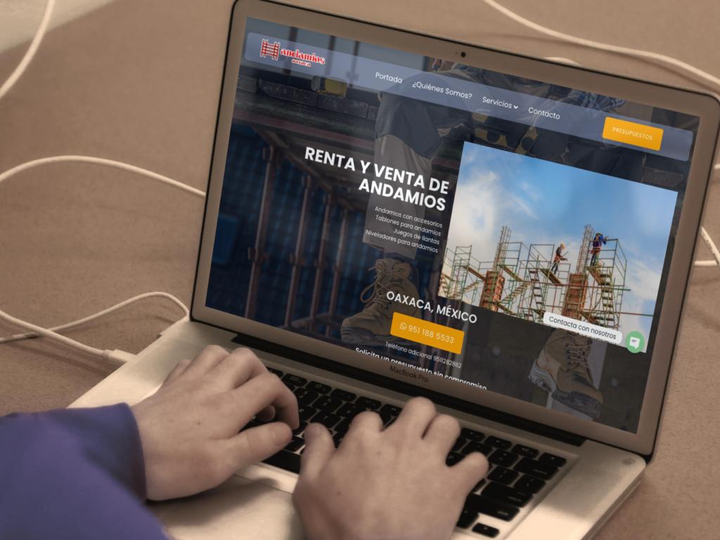 página web construcción