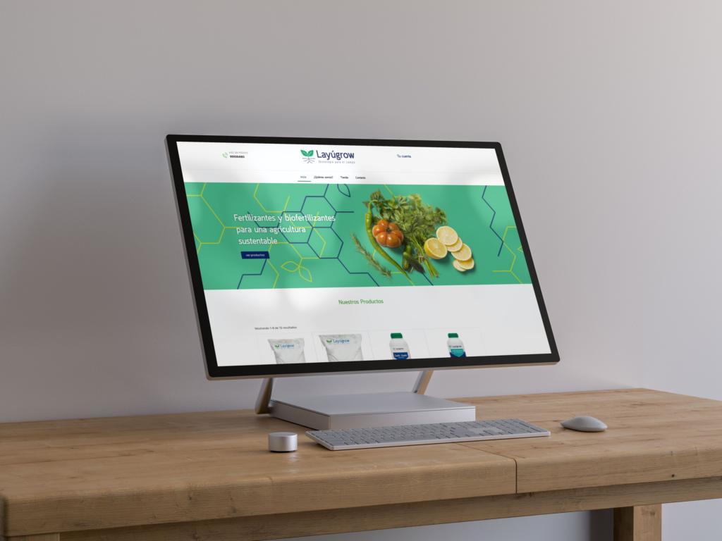 diseño tienda en línea
