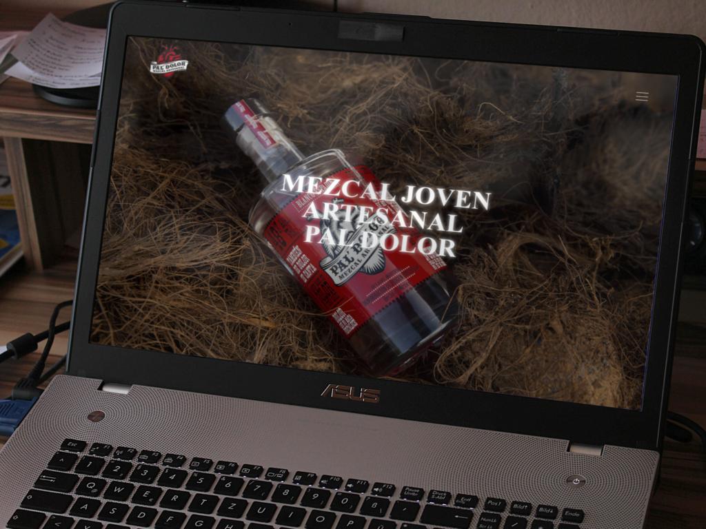 página web mezcal
