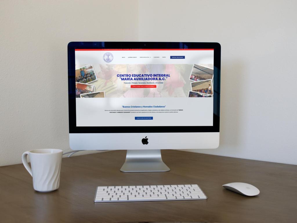 página web colegio